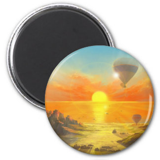Drifting Above Dreams Magnet