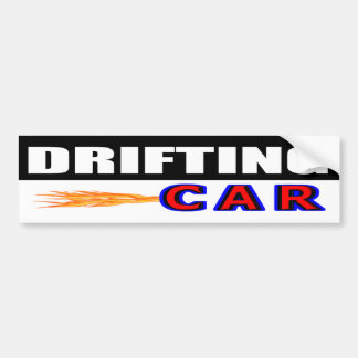 Drifting Car Bumper Sticker