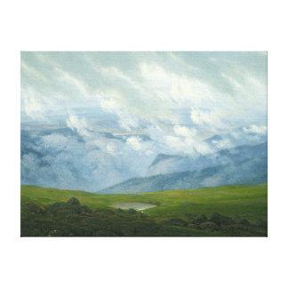 Drifting Clouds Canvas Print
