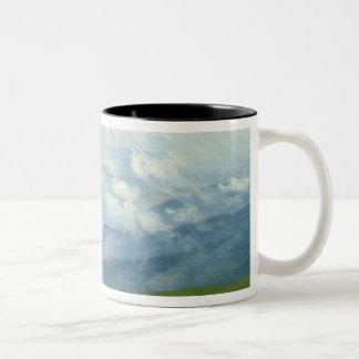 Drifting Clouds Two-Tone Coffee Mug