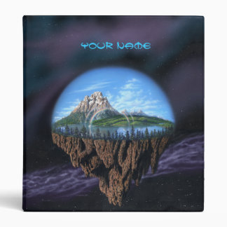 Drifting Earth Binder with Your Name