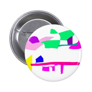 Drifting Ice 2 Inch Round Button
