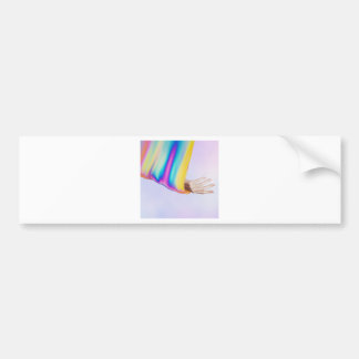 Drifting In Colors That Don't Exist Bumper Sticker