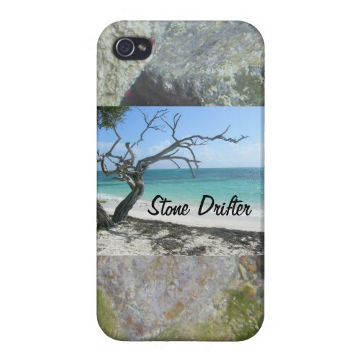 Drifting in Stone Cases For iPhone 4