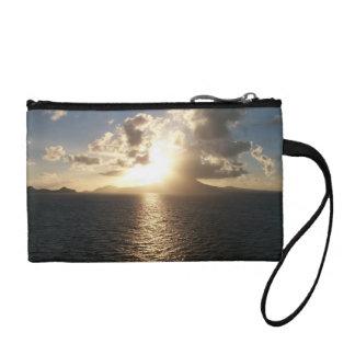 Drifting into the sunrise coin purse