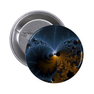 Drifting Jellies - Fractal Art 2 Inch Round Button