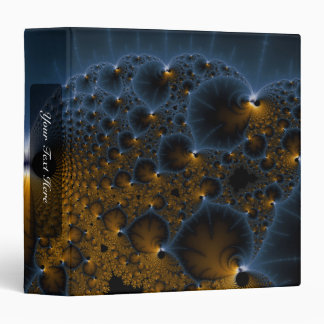 Drifting Jellies - Fractal Art Binder