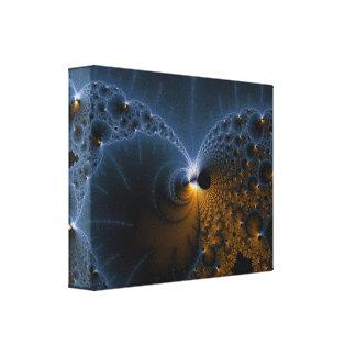 Drifting Jellies - Fractal Art Canvas Print