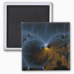 Drifting Jellies - Fractal Art Magnet