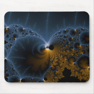 Drifting Jellies - Fractal Art Mouse Pad