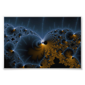 Drifting Jellies - Fractal Art Photo