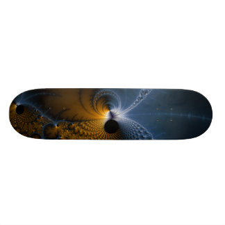 Drifting Jellies - Fractal Art Skateboard