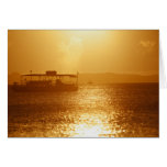 Drifting off into the Sunset Greeting Card