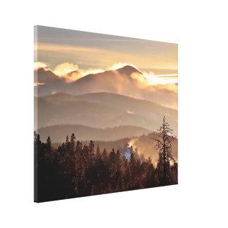 Drifting Snow - James Peak, Colorado Canvas Print