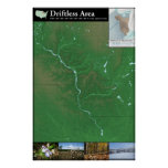 Driftless Area Map Poster (24x36in)