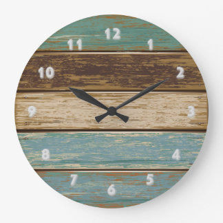 Driftwood 2 Wall Clock