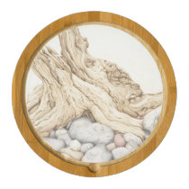 Driftwood and Pebbles Cheese Board