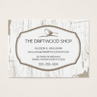 DRIFTWOOD AND SPARROW BIRD BUSINESS CARD