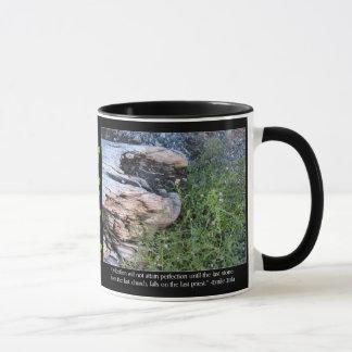 Driftwood and Zola Quote Mug