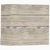 Driftwood Background 3 Ring Binder (<em>$24.15</em>)