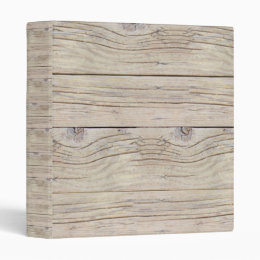 Driftwood Background 3 Ring Binder