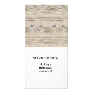 Driftwood Background Card