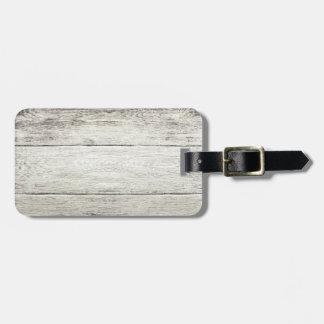 Driftwood Background Luggage Tag