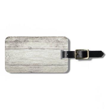bestcustomizables Driftwood Background Luggage Tag
