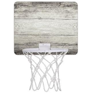 Driftwood Background Mini Basketball Backboard