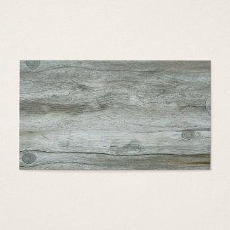 Driftwood Background Texture Business Card