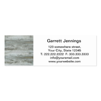 Driftwood Background Texture Business Card Template