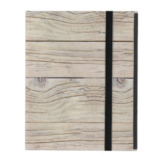 Driftwood Background Texture iPad Case