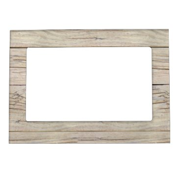 thetreeoflife Driftwood Background Texture Magnetic Photo Frame