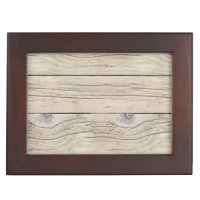 Driftwood Background Texture Memory Box