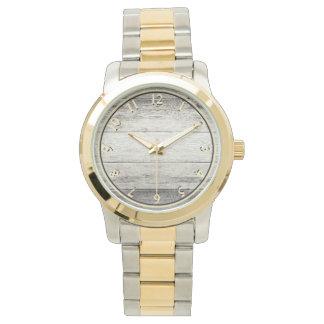 Driftwood Background Wristwatch