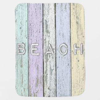 Driftwood Beach Baby Blanket