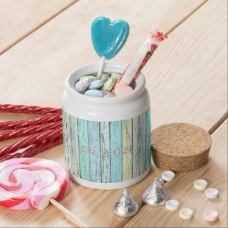 Driftwood Beach Candy Jar