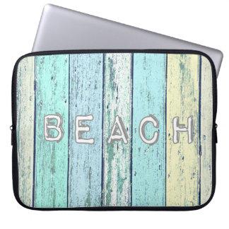 Driftwood Beach Laptop Computer Sleeve