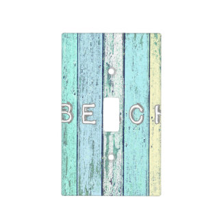 Driftwood Beach Light Switch Covers