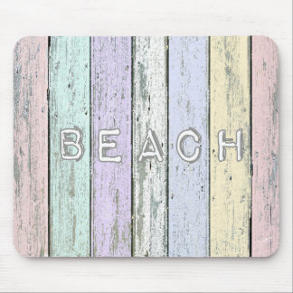 Driftwood Beach Mouse Pad