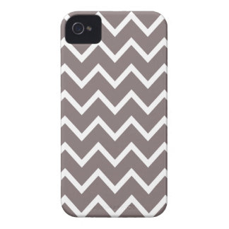 Driftwood Brown Chevron Iphone 4S Case iPhone 4 Case-Mate Case