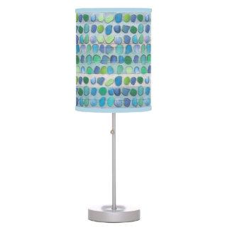 Driftwood de cristal de la playa del mar lámpara de escritorio