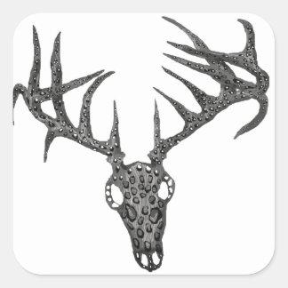 Driftwood Deer Skull Sticker