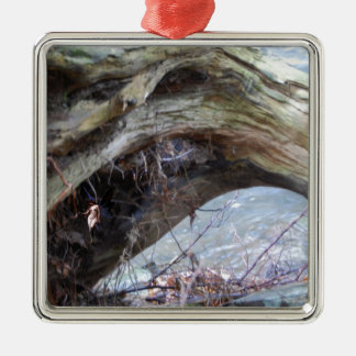 Driftwood Find the Fairy Metal Ornament