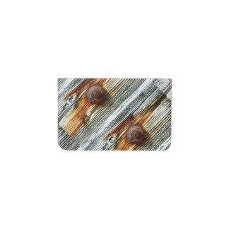 driftwood grey Thunder_Cove Business Card Holder