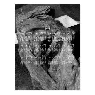 Driftwood Heart; 2013 Calendar Postcards