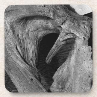 Driftwood Heart Beverage Coaster