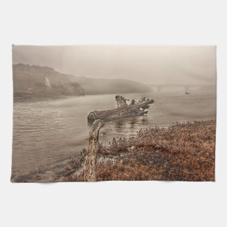 Driftwood in the Water Hand Towel