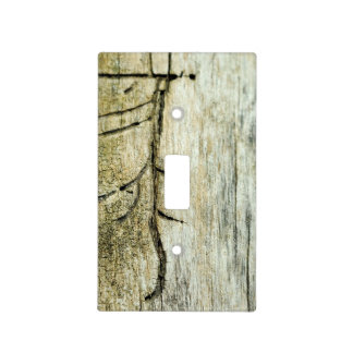 Driftwood Lightswitch Cover