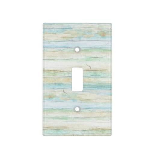 Driftwood Ocean Beach House Coastal Seashore Light Switch
